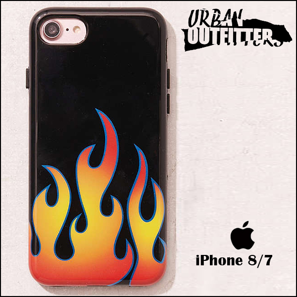 Urban Outfitters☆ クールなフレーム柄♪ iPhoneケース (7/8用)