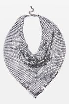 送料関税無料TOPSHOP Chainmail Neckerchief スカーフ