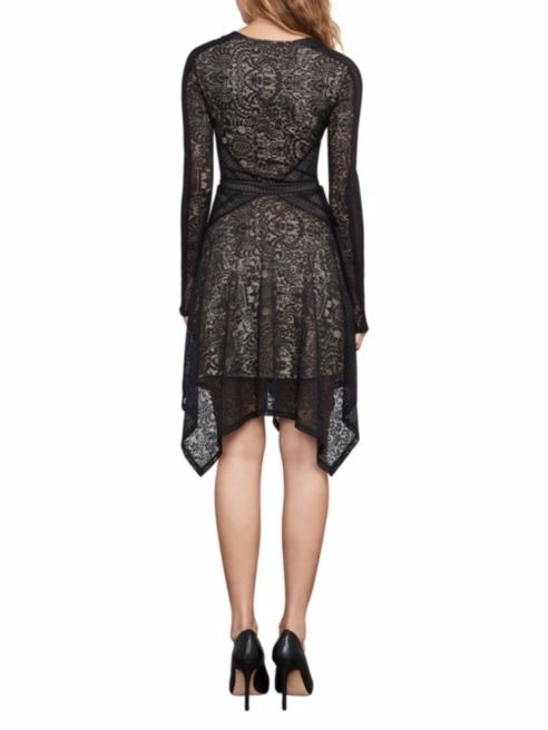 SALE【BCBG MAXAZARIA】Alex Lace Handkerchief Dress
