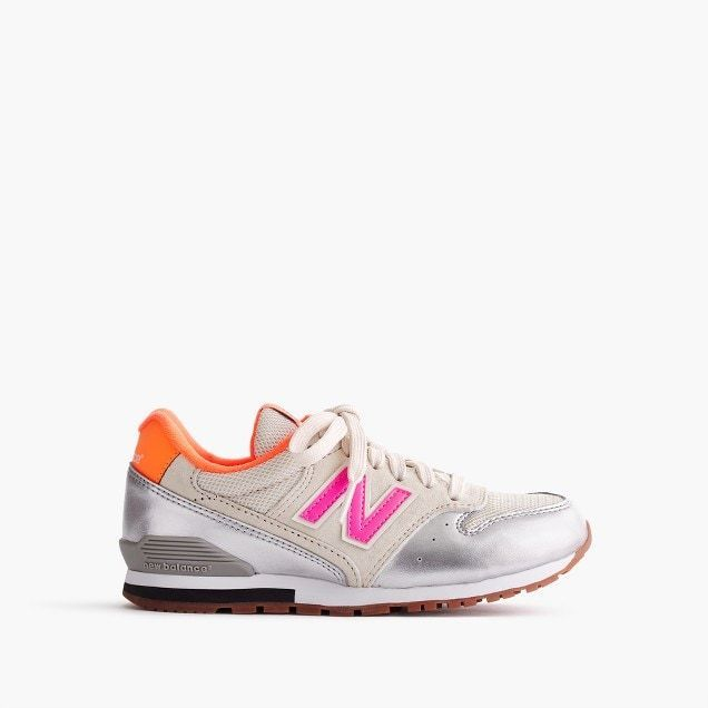 New Balance x J.Crewコラボ 996 lace-up (silver coral)