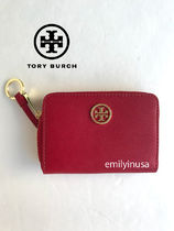 即発 TORY BURCH★ROBINSON ZIP COIN CASE*KIR ROYALE