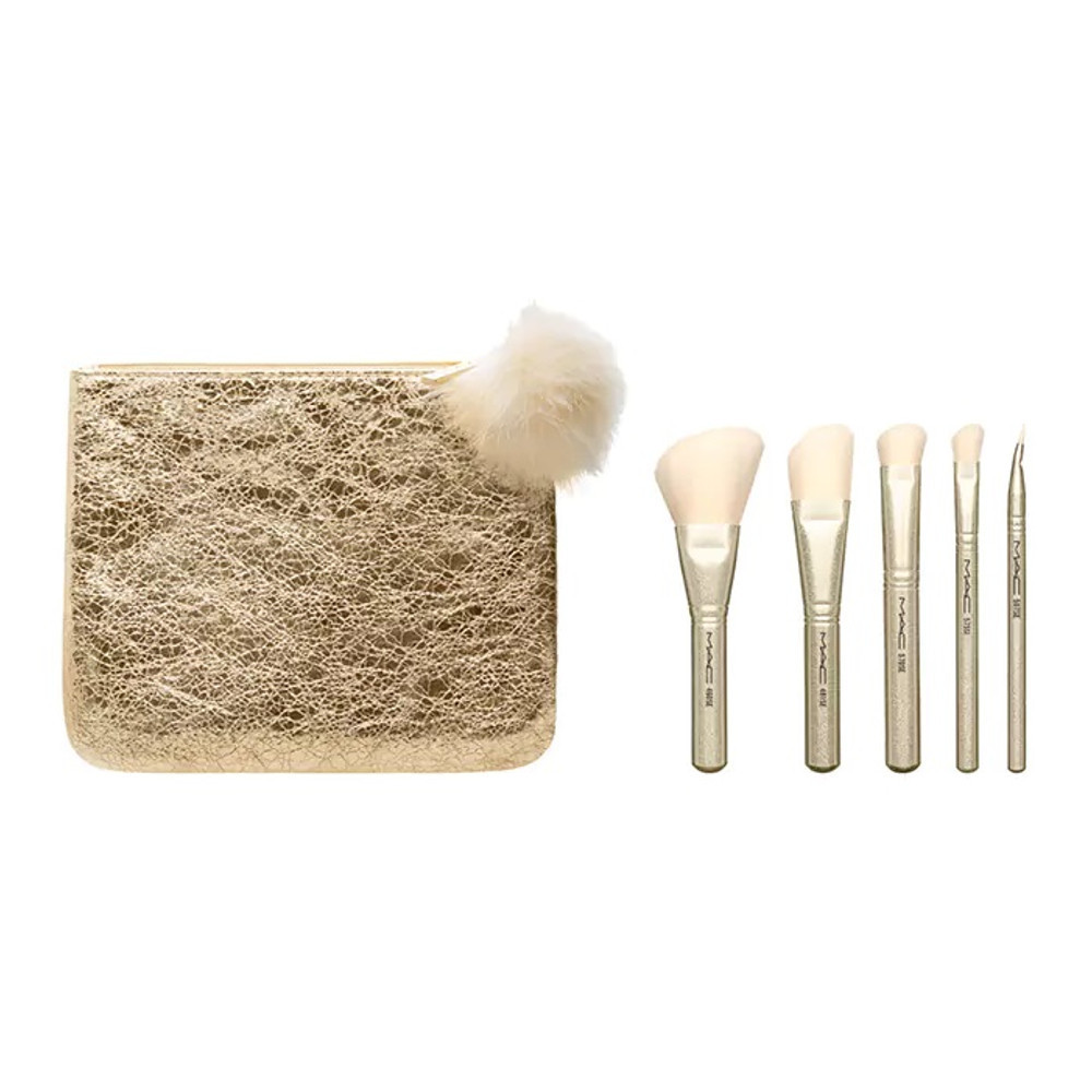 MAC☆ホリデー限定☆SNOW BALL BRUSH KIT 2種