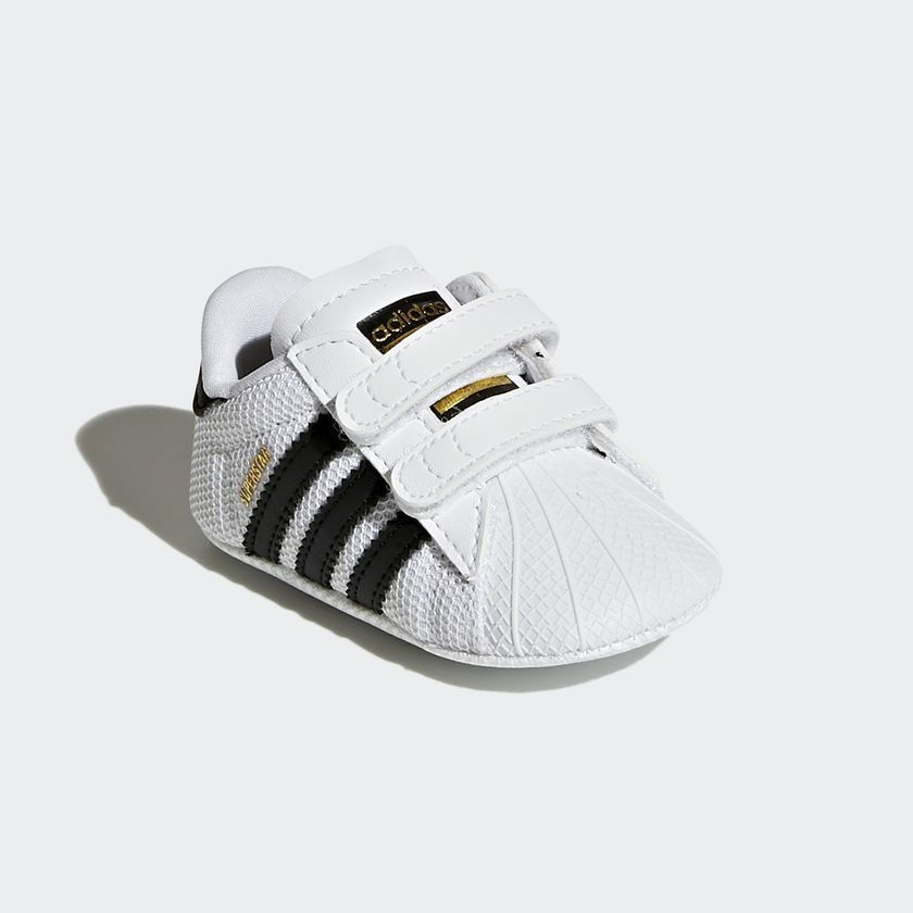 【 INFANTS SUPERSTAR SHOES 】★ White/Core Black