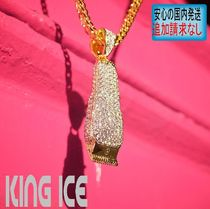 LA発★King Ice★HipHopペンダント14kGold Barber shop Clippers