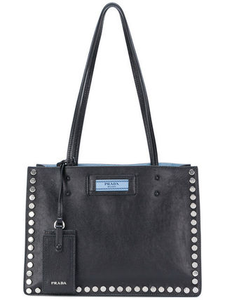 関税・送料込 Etiquette studded tote bag バッグ