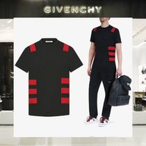 【18SS NEW】 GIVENCHY_men /CONTRASTED BANDS TシャツBK