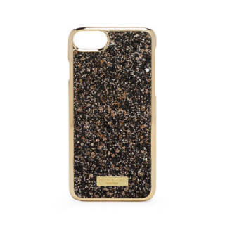 Henri Bendel★iPhone7/8 ケース★GLITTER★BLACK GOLD