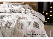 【NEXT】Brushed Cotton ツリー Bed Set シングルサイズ♪