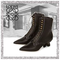 17AW新作【LOEWE】Lace Up Boot Black