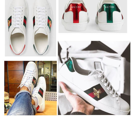【GUCCI】 Ace Bee スニーカー