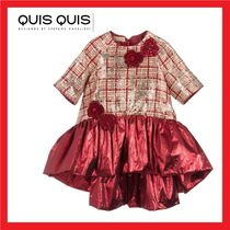Quis Quis★Red & Gold ドレス★4-12Y 関税込