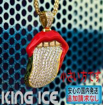 LA発★King Ice★HipHopペンダントThe 14K Gold Desire(S)