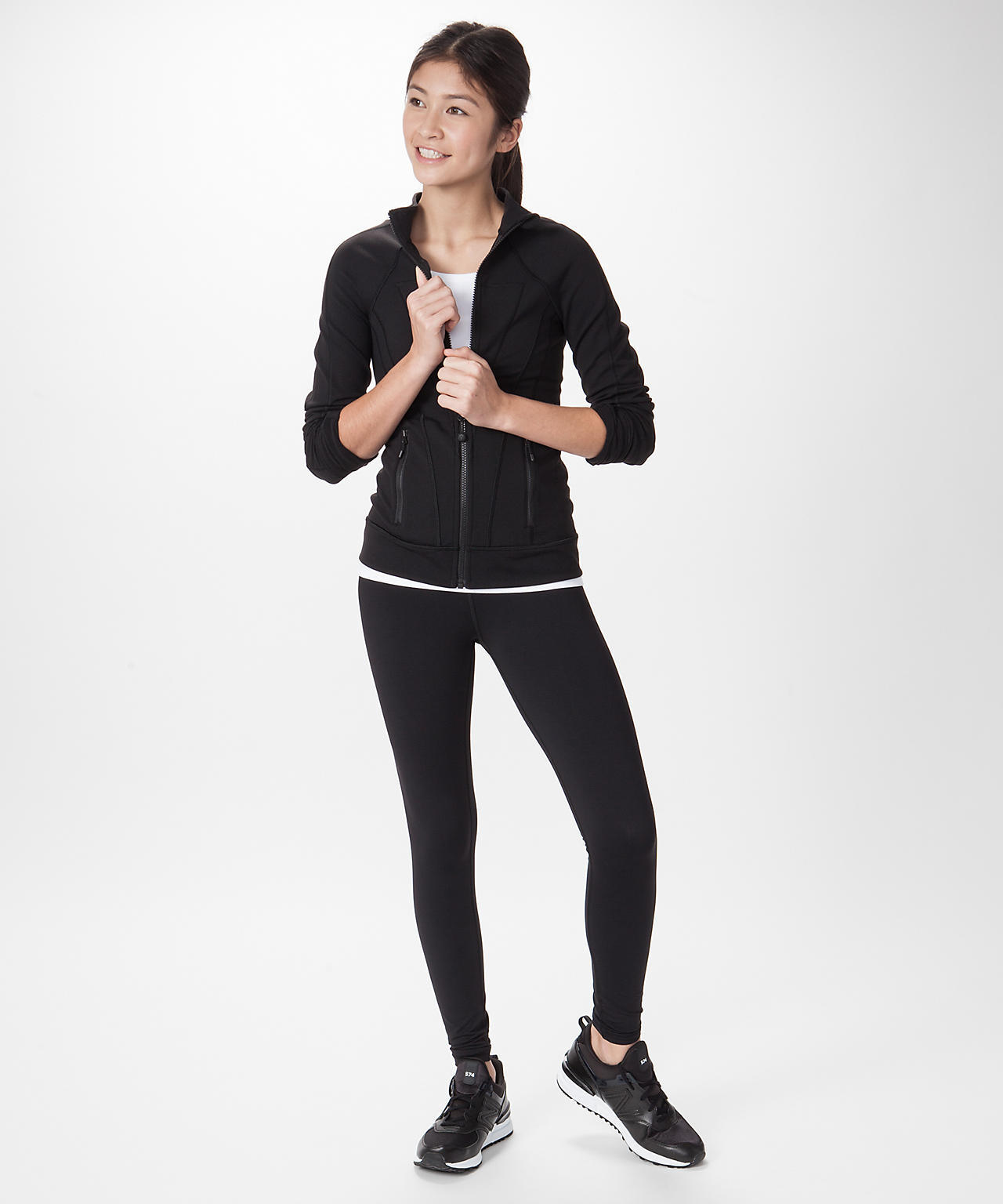 <ivivva by lululemon>Perfect Your Practice Jacket ブラック
