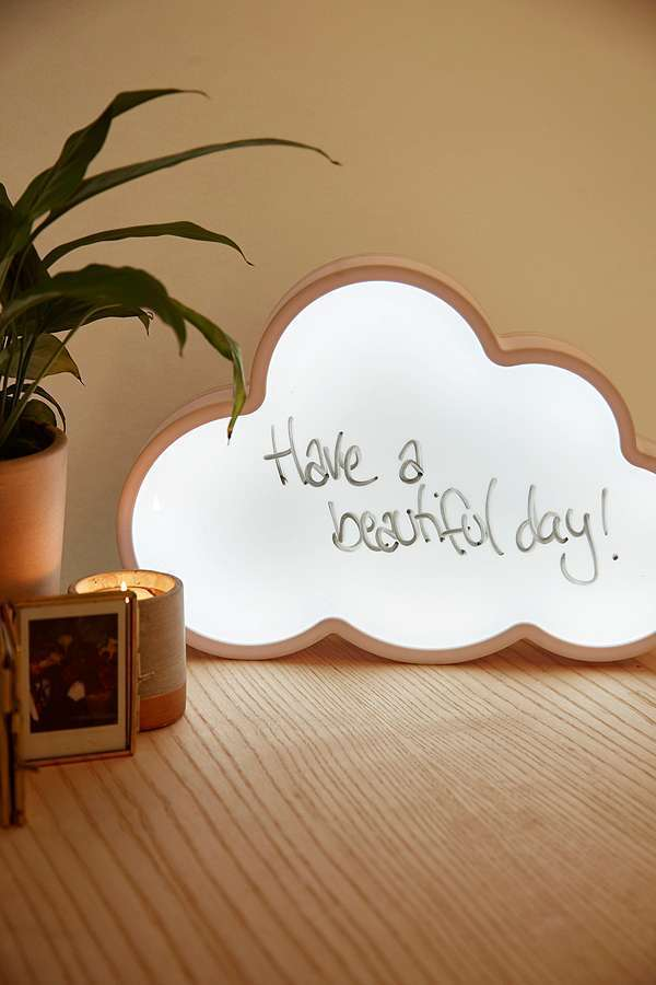 UrbanOutfitters☆Cloud Light-Up Write-On Board☆税送込
