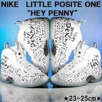 "キュート★NIKE LITTLE POSITE ONE ""HEY PENNY""★ホワイト"