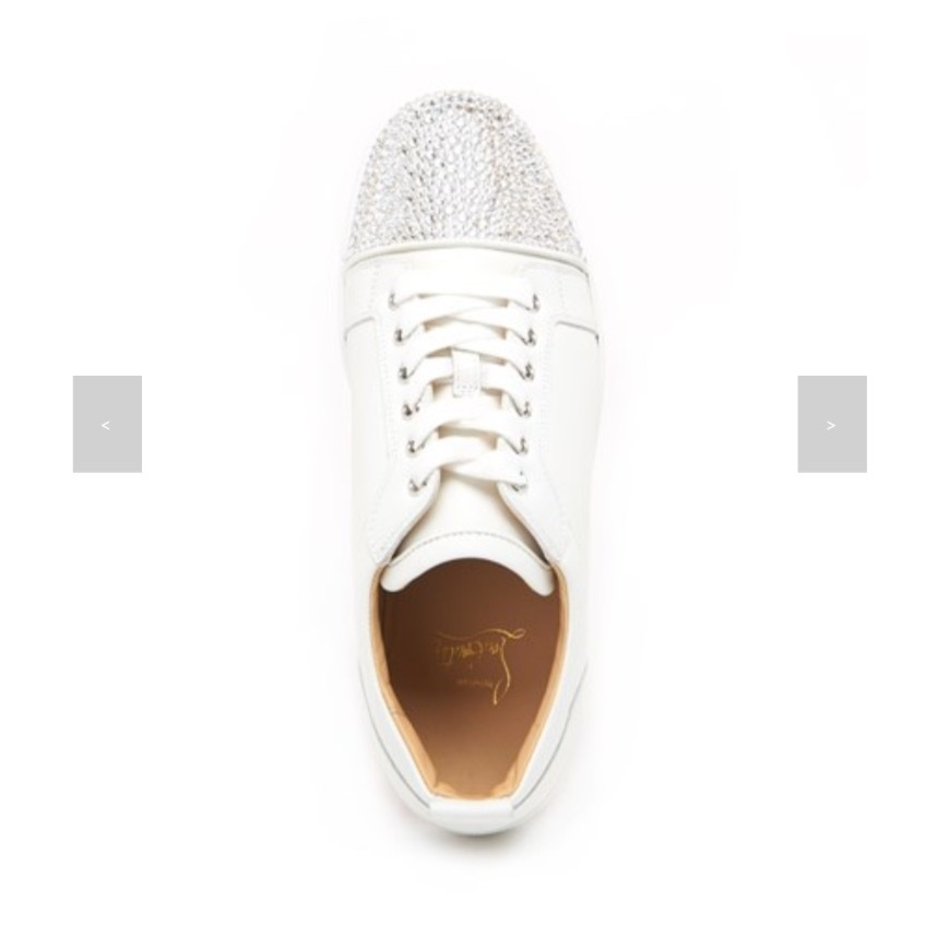 ★★Christian Louboutin《JUNIOR STRASS SNEAKERS》送料込★★