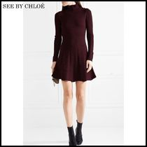 【関税/送料込】See by Chloe Wool turtleneck mini 国内発送