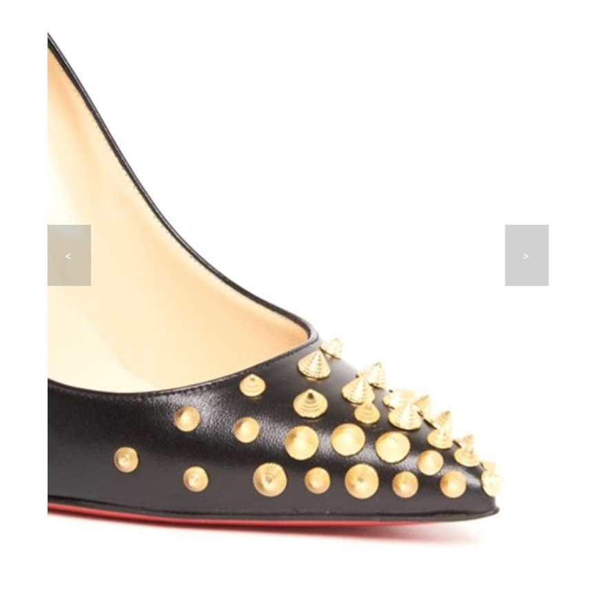 ★★Christian Louboutin 《SPIKISHELL PUMPS 》送料込み★★