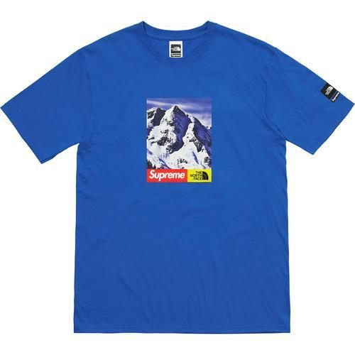 [SUPREME] FW17 Wk15 The North Face Mountain Tee