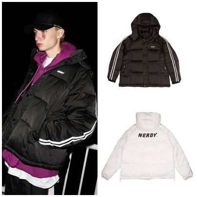 日本未入荷NERDYの[LIMITED] Padding Down Jumper 全2色