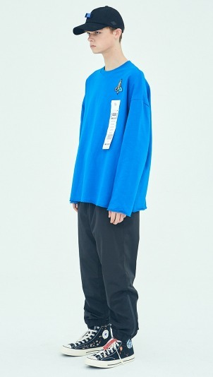 追跡付韓国STEREO VINYLS Spaceshuttle Sweatshirt全2色男女兼用