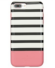 kate spade★Striped Credit Card iPhone 7/8 Plus Case★カード