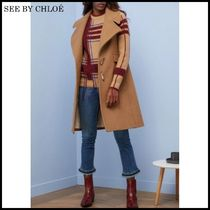 【関税/送料込】See by Chloe Wool sleeveless duffle 国内発送