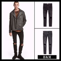 ☆Men's  H&M☆Super Skinny Trashed Jeans