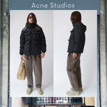 【17AW NEW】 Acne Studios_men/Minus black / grey/コートBK