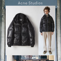 【17AW NEW】 Acne Studios_men/Minus gloss black/コートBK