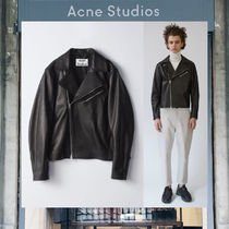 【17AW NEW】 Acne Studios_men/Axl black/ライダースジャケット