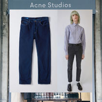【17AW NEW】 Acne Studios_men/River used blk2/ジーンズ