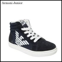 【関税/送料込】Armani Junior HIGH TOP SNEAKERS 国内発送