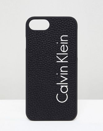Calvin Klein Logo Iphone 7 ケース