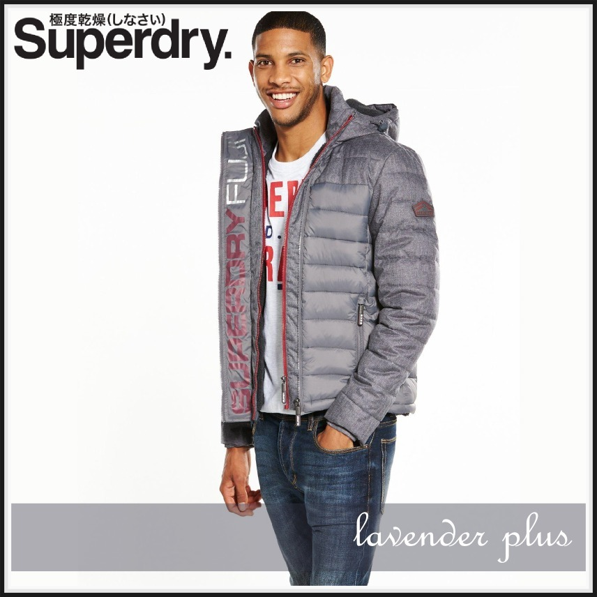 Superdry Fuji Mix Double Ziphood ジャケット!