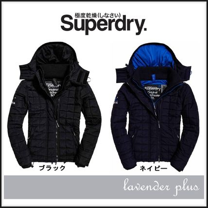 Superdry Hood Quilt Athletic Wndcheater ジャケット!