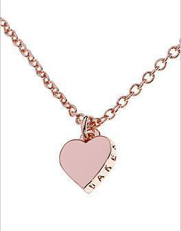 ted baker london hara tiny heart pendant necklace mozeypictures Images