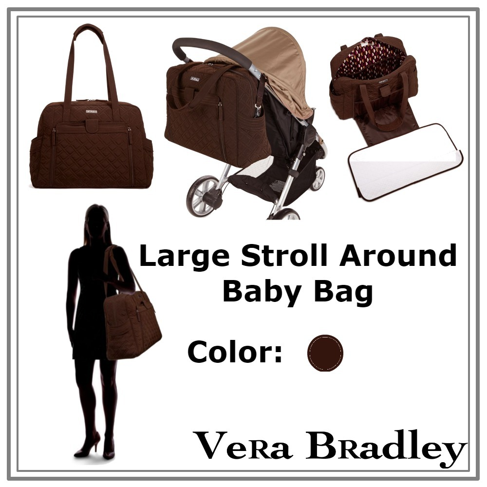 ◇Vera Bradley◇色限定セールLarge Stroll Around Baby Bag