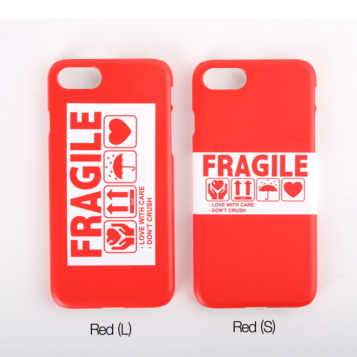 Let's protect FRAGILE LOVE 保護しようFRAGILE LOVE iPhoneCASE