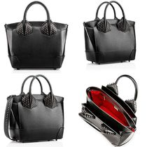 【大人気】 Eloise Large Two Handle Bag ブラック
