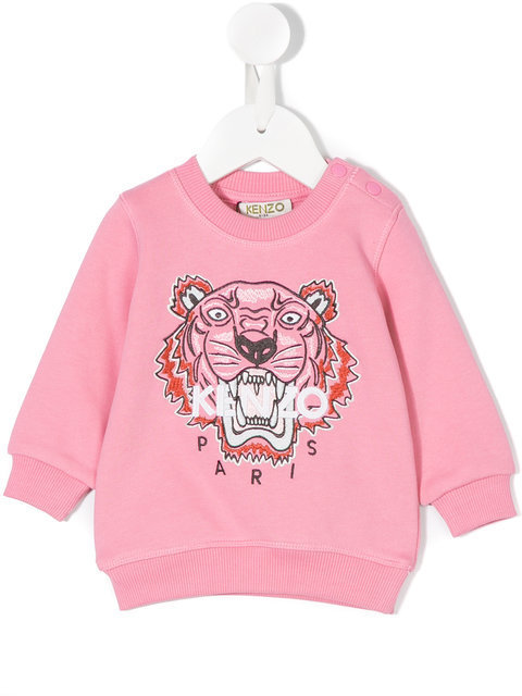 KENZO KIDS sweat brode Tiger スウェット パーカー