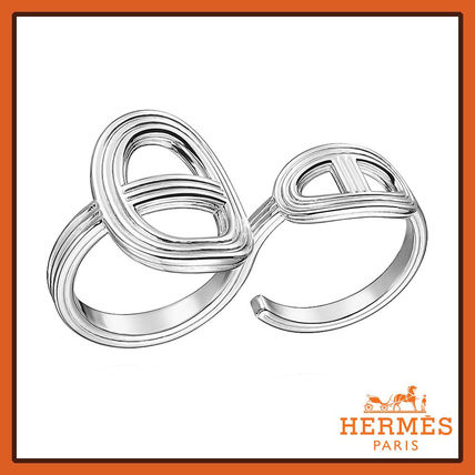 HERMES★エルメス Chaine d'Ancre 24 シルバーリング