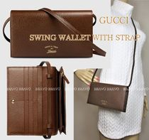 GUCCI★セール★SWING WALLET WITH STRAP★即発送♪