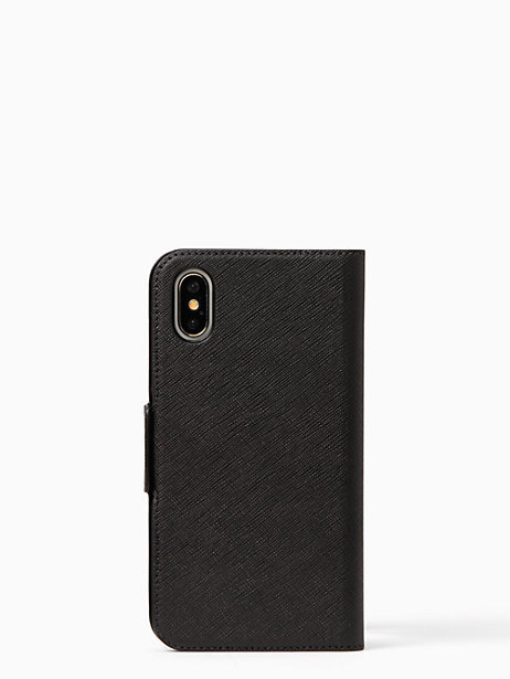 kate spade finer things folio iphone x case