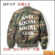 新作 限定 MA1 ANTI SOCIAL SOCIAL CLUB SR22 Jacket Mサイズ