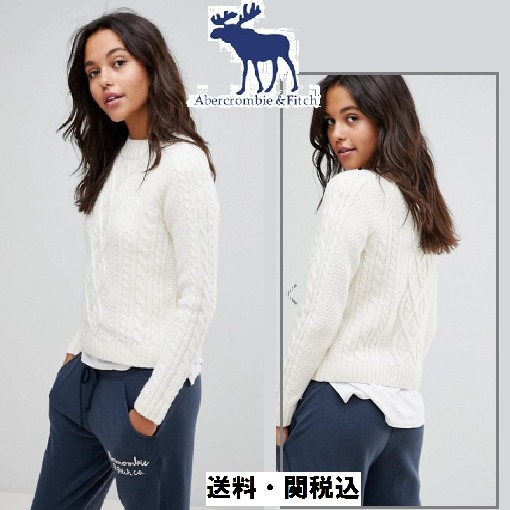 Abercrombie & fitchニットタートルネックジャンパー