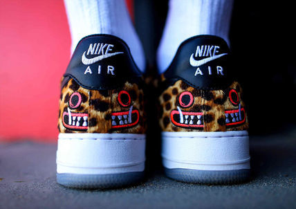 ★【NIKE】レア!ナイキ コラボ Saner x Air Force 1 Jaguar
