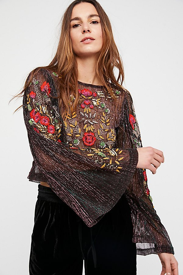 Free People フリーピープル Whos That Girl トップス