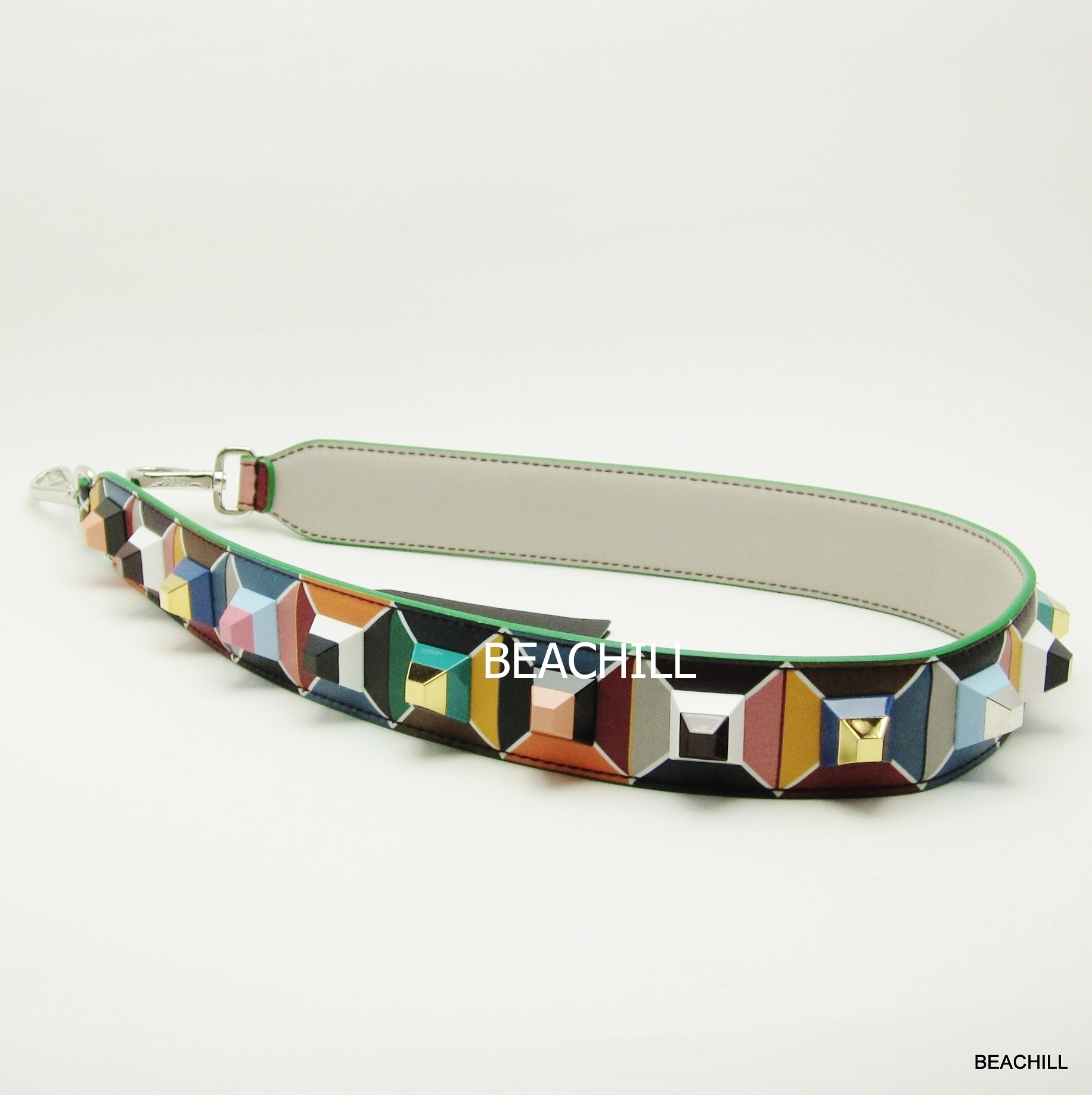 "≪SALE≫FENDI☆確保済みSTRAP YOU""MULTICOLOR""安心国内発送"