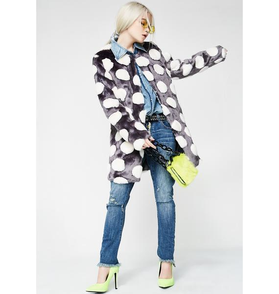 ☆関税送料込☆BUBBLES COAT/Unreal Fur
